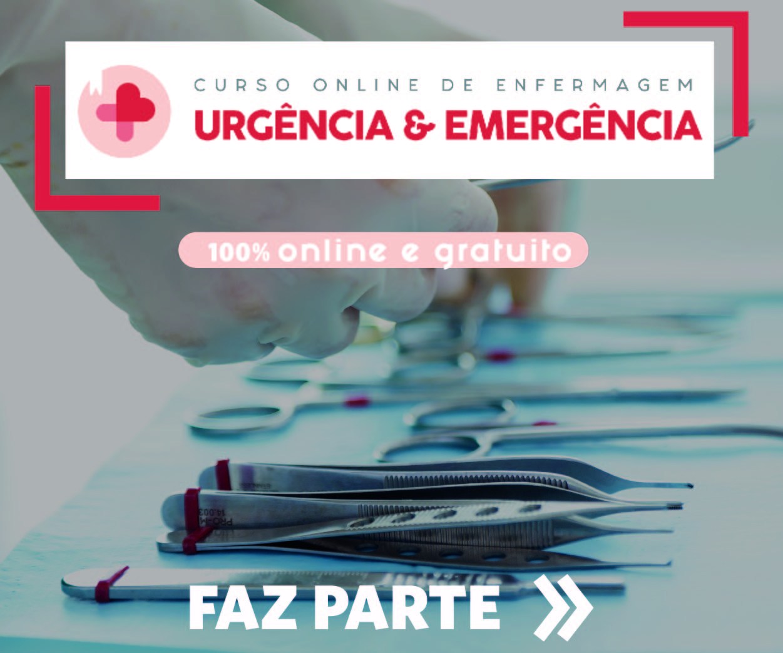 Mobile Curso online de enfermagem